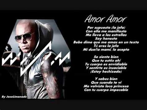 imagenes de i love you reggaeton wisin amor amor letra lyrics reggaeton 2014 el