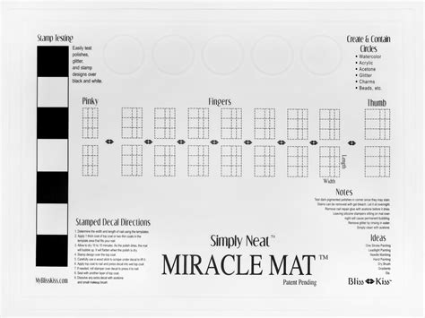 Miracle Mat by Simply Neat Miracle Mat Patent Pending Bliss