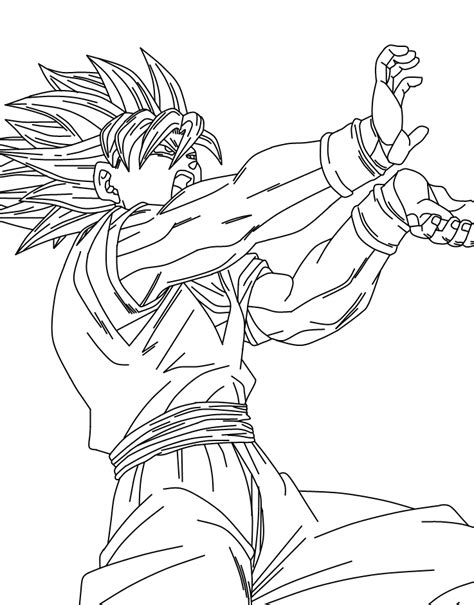 Goku Super Saiyan 5 Coloring Pages Coloring Home Z Coloring Pages Goku Saiyan 5