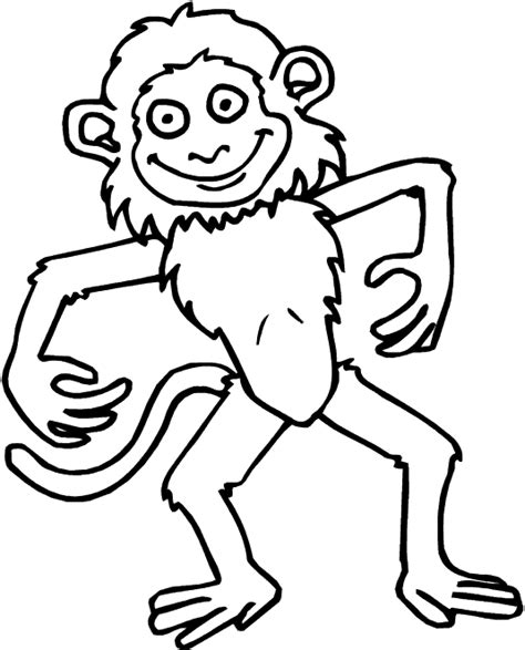 monkey coloring pages for toddlers free printable monkey coloring pages for kids