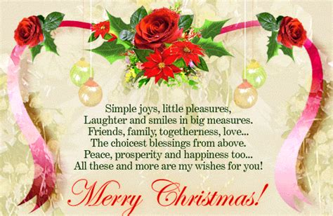 merry christmas poems november