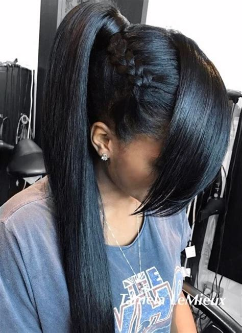 Black Hairstyles Ponytail by 30 Black Ponytail Hairstyles