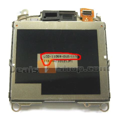 Blackberry 9300 010 Lcd Limited blackberry curve 8520 lcd screen replacement version 010