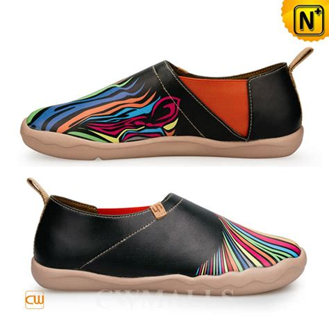 painted slip on shoes cw700118