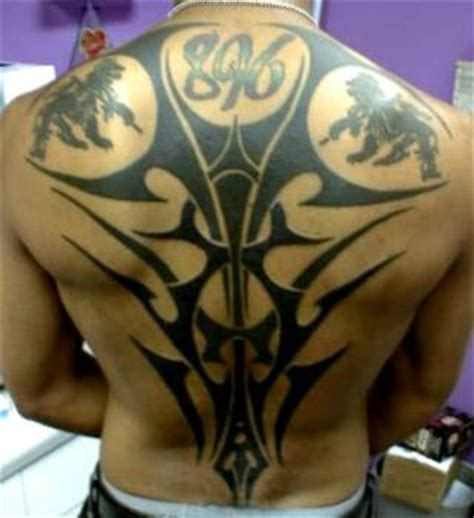 tattoo punggung tattoo tribal di punggung