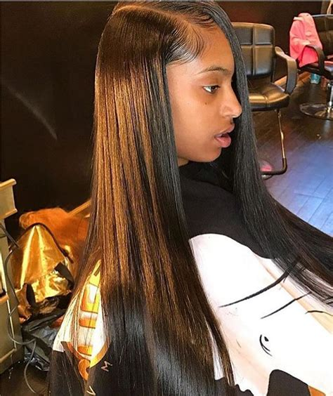 black and brown weave sew ins cliffvmir vmircollection hair pinterest black