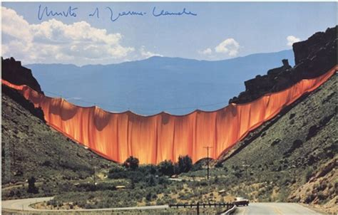 christo and jeanne claude valley curtain the valley curtain by christo and jeanne claude on artnet