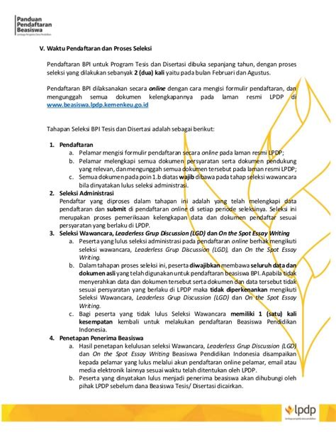 Panduan Dapat 20hari Dari Dengan Adsense 1 buku panduan pendaftaran beasiswa lpdp