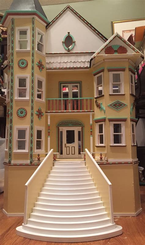 ladybird dolls house jocelyn s mountfield dollhouse finished exterior of the