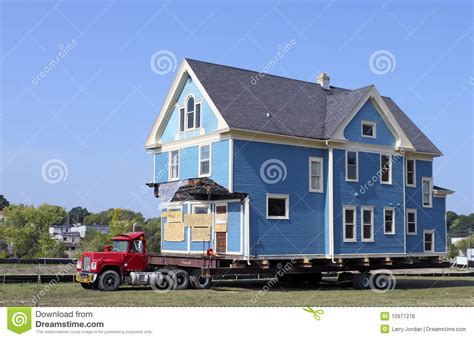 house mover house moving stock photo image of relocation home semi