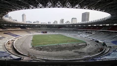 Gelora Set gelora bung karno stadium renovation is 82 percent