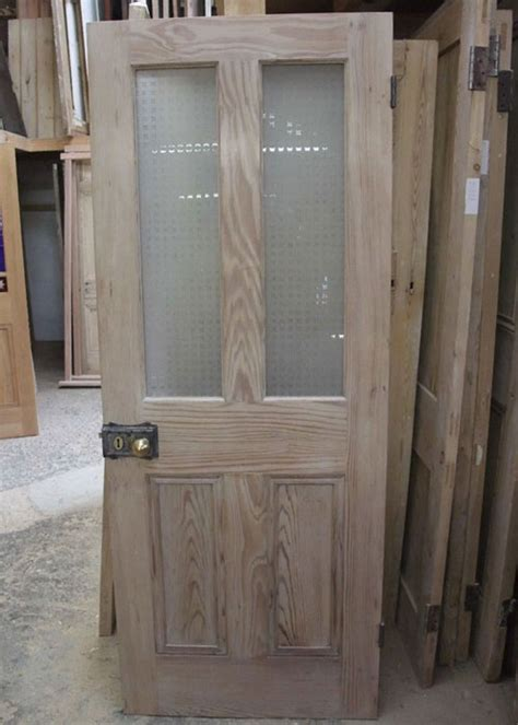 Half Glazed Interior Pitch Pine Door Door Ideas Interior Pine Door