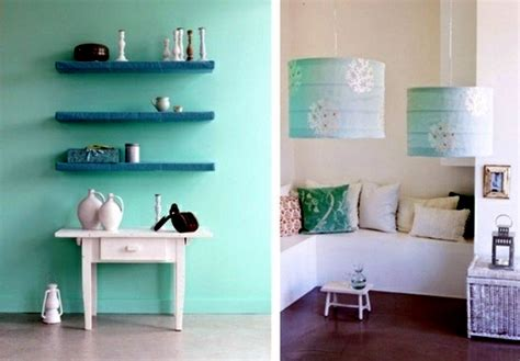 Open Shelves In Kitchen Ideas by Wall Color Mint Green Gives Your Living Room A Magical