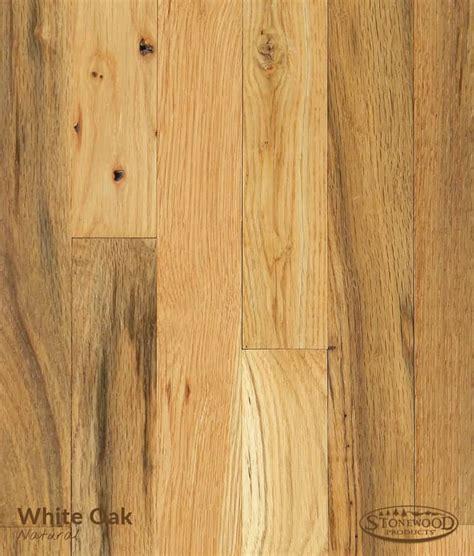 white oak hardwood flooring natural