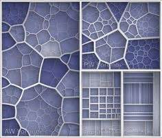 pattern formation parametric voronoi 2d pattern with rounded corners and offset