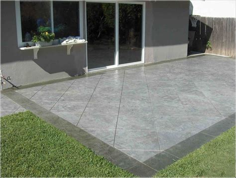 Decorative Concrete Patio Designs Patios Home Design Concrete Patio