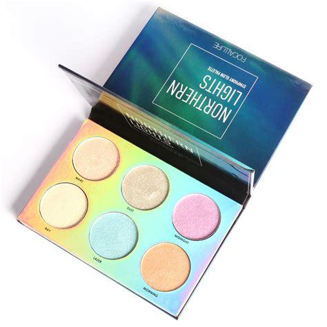 Focallure Glow Iluminator Highlighter focallure 6 color northern lights symphony glow makeup glitter glow shimmer bronzer