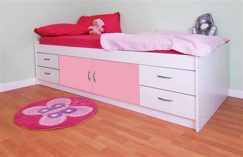 cabin bed with futon glaston children s cabin bed british made