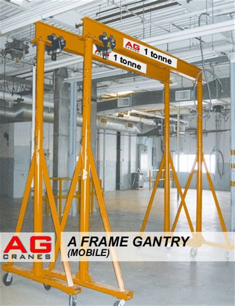 a frames for sale mobile a frame gantry on wheels used portable lifting