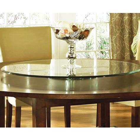 glass table top lazy susan steve silver avenue table top lazy susan 40