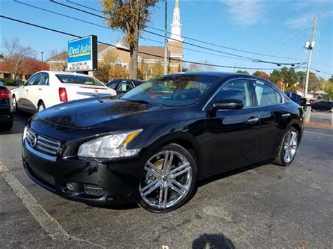 nissan of nc nissan maxima for sale in raleigh nc carsforsale