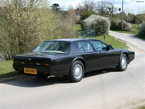 Aston Martin 1990 by 1990 Aston Martin Lagonda I Pictures Information And