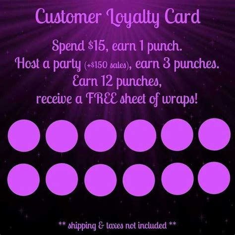 jamberry loyalty card template loyalty card jamberry signs loyalty cards