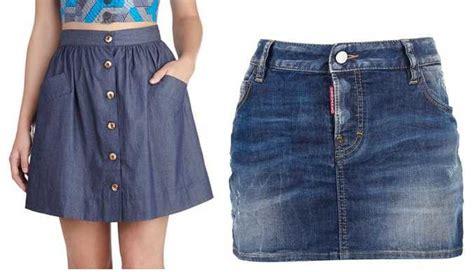 imagenes modelos de falda jean modelos de faldas para el verano 2014 web de la moda