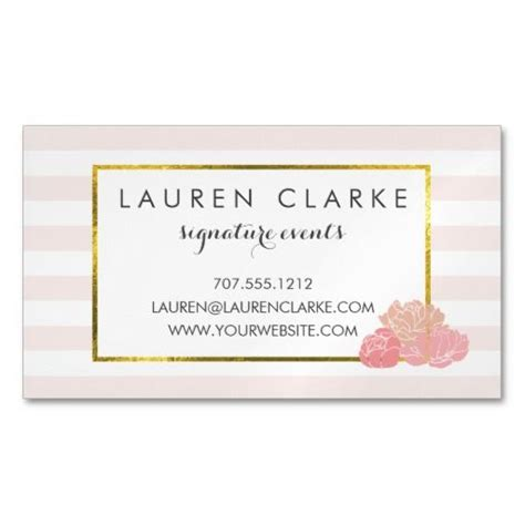 feminine business card template 17 best images about feminine business cards on