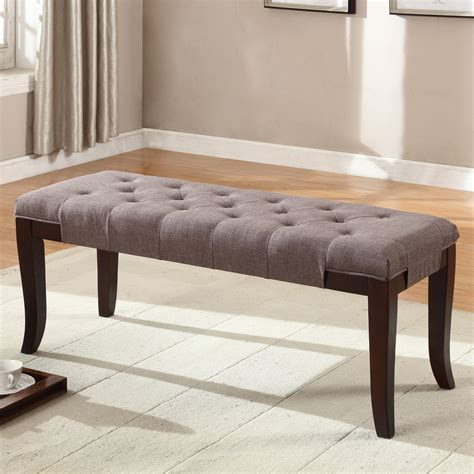 bedroom bench furniture roundhill furniture linion bedroom bench wayfair