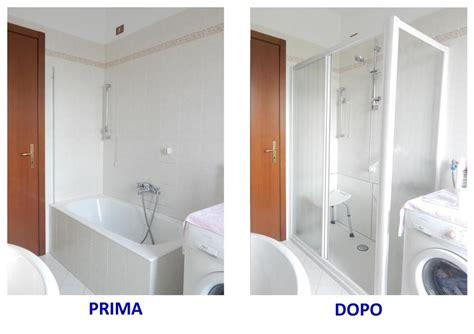 trasformare vasca in doccia costi progetto trasformazione vasca in doccia a torbole casaglia