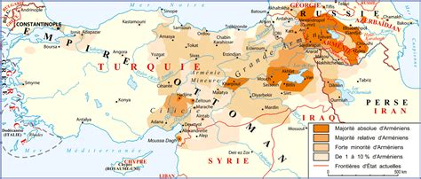 carte empire ottoman armenian killings mutual massacres or genocide