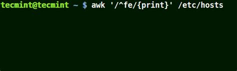 awk pattern matching exles how to use awk and regular expressions to filter text or