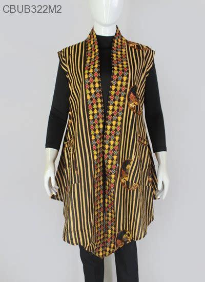 Etnik Vest blazer batik garis etnik outer batik murah batikunik