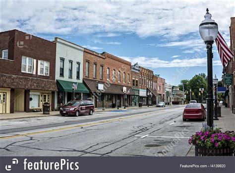 small town cityscapes small town main street stock image i4139920