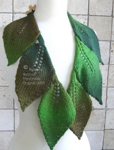 leaf pattern scarf leaf knitting patterns knit leaf scarf patterns 1000