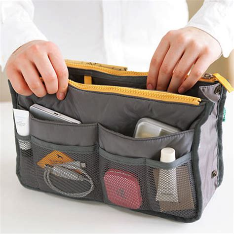 Ez Trunk Travel Organizer Bag Tas Travel Organizer travel insert handbag organiser purse liner organizer bag amazing storage tanga