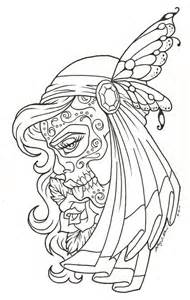 day of the dead coloring pages free printable day of the dead coloring pages best