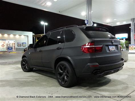 matte bmw x5 2009 bmw x5 4 8is wrapped in matte black by dbx
