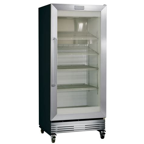 Glass Door Commercial Refrigerator Frigidaire Commercial Fcgm201rfb 19 53 Cu Ft