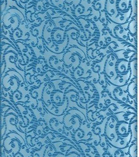 joann fabric jo ann stores brocade fabric intricate scroll turquoise