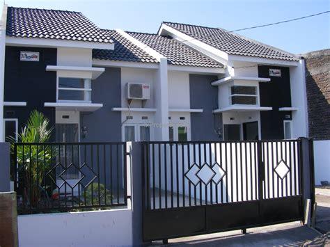 gambar desain pagar rumah modern minimalis terbaru