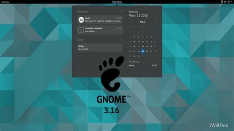 best themes gnome 3 16 gnome 3 16 is out brings plethora of new features onto