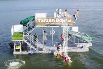 tarzan boat tennessee 7 crazy ways to float the lake
