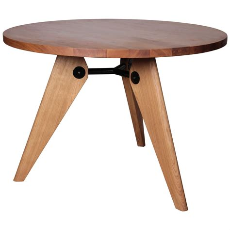 Vitra Dining Table Jean Prouve Gueridon Dining Table Produced By Vitra At 1stdibs