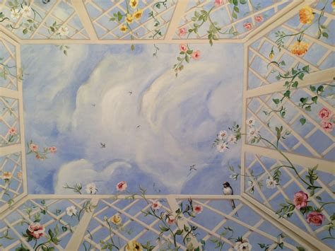 soffitto decorato un soffitto decorato particolare trompe l oeil dino