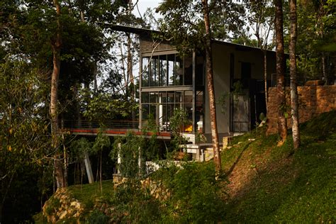 Forest House Luxury Homes Luxurious Forest House In Malaysia