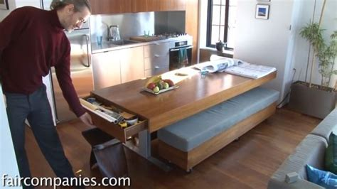 Compact Apartment With Folding Walls And Tons Of Hidden