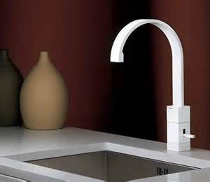 white kitchen sink faucets the best consideration to choose white kitchen faucets modern kitchens