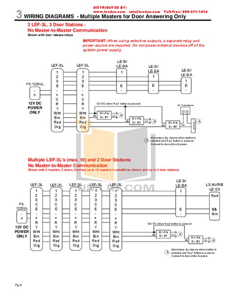 aiphone wiring diagram pdf manual for aiphone other lef 10s intercoms